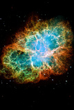 Crab Nebula Space Photo Art Poster Print
