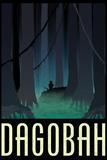 Dagobah Fantasy Travel Poster