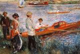 Pierre-Auguste Renoir Oarsmen at Chatou 1879 Art Print Poster