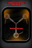 Back to the Future Movie Flux Capacitor Poster Print
