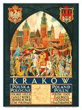 Kracow  Poland-Polish State Railways-King Stefan Bathory