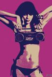 Steez Bikini Boombox - Purple