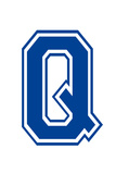 Varsity Letter Q Make Your Own Banner Sign Poster