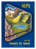 Alps - Go to France by Train - French Railways