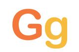 Kids Varsity Letter G Sign Poster