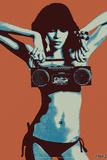 Steez Bikini Boombox - Orange