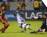2014 MLS Playoffs: Nov 9  Real Salt Lake vs LA Galaxy - Nick Rimando  Gyasi Zardes  Tony Beltran