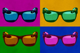 Sunglasses Pop Art Poster