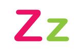 Kids Alphabet Letter Z Sign Poster