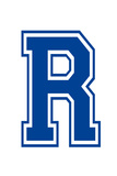 Varsity Letter R Make Your Own Banner Sign Poster
