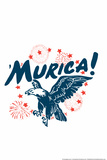 Murica! Eagle Snorg Tees Poster