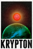 Krypton Retro Travel Poster