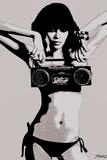 Steez Bikini Boombox - BW
