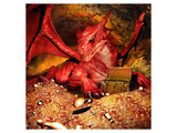 Dragon Smaug & Erebor Treasure