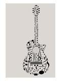Musical Symbols & Notes Guitar