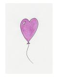 Pink Heart Shaped Balloon
