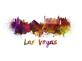Las Vegas Splatter Skyline