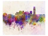Oklahoma City Splatter Skyline