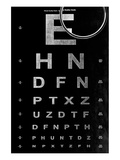 Eye Chart & Magnifying Glass