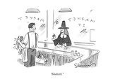 """Shaketh"" - New Yorker Cartoon"