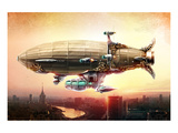 Graf Zepplin Fantasy Dirigible