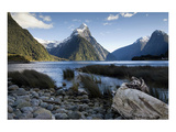 Mitre Peak Milford New Zealand
