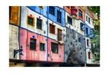 Hundertwasser House  Vienna  Austria
