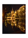Night Reflections  Vajdahunyad Castle  Budapest