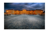 Schonbrunn Palace At Night  Vienna  Austria