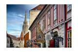 Castle Hill Street Scene I Budapest  Hungary