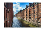 Brick Warehouses Of Speicherstadt  Hamburg