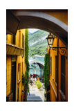 Alley With a Lake View  Bellagio  Lake Como  Italy