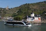 Pfalzgrafenstein Burg At Kaub River Rhine Germany