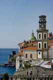 Atrani Church Tower Italy