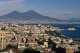 Vesuvius Viewed Acroos Naples