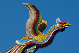 Taipei Colourful Bird Icon On Temple Longshan