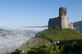 Bernkastel Kues Landshut Castle Rises Above Mosel