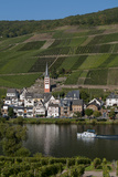 Zell On Moselle River Germany