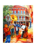 Big Easy Beat Reproduction d'art par Diane Millsap