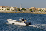 Ras Al Khaimah Fishing Boat Leaves Harbour