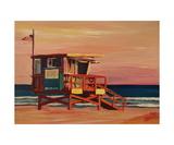 Santa Monica California Baywatch Beachhouse Scene
