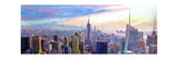 Wide Panorama of Manhattan w New Jersey a Brooklyn