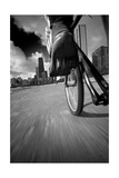 Biking Chicagos Lakefront BW