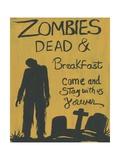 Zombies Dead & Breakfast Halloween