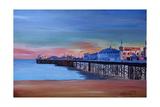 Good Old Brighton Pier East Sussex United Kingdom