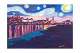 Starry Night in Dresden - Van Gogh Inspirations