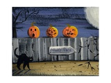 Spooky Path Jack O Lantern Pumpkins