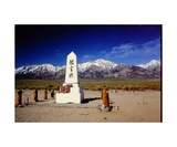 Japanese Cemetery at Manzanar