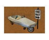 Probe Pedal Car