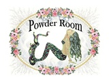 Powder Room Lovely Mermaid